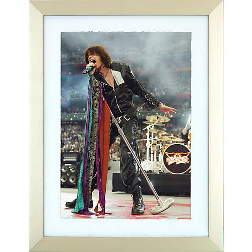 Hulton Archive Steven Tyler Walk This Way Framed Print