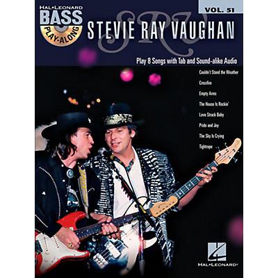 Hal Leonard Stevie Ray Vaughan - Bass Play-Along Vol. 51 (Book/CD)