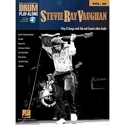 Hal Leonard Stevie Ray Vaughan - Drum Play-Along Volume 40 Book/Audio Online