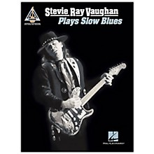Hal Leonard Stevie Ray Vaughan - Plays Slow Blues Guitar Tab Songbook