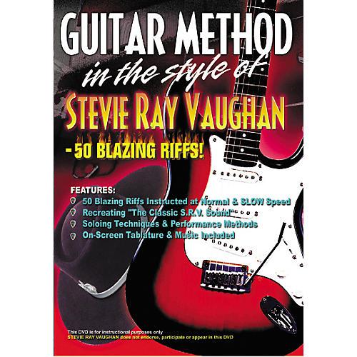 MVP Stevie Ray Vaughan 50 Blazing Licks Guitar (DVD)