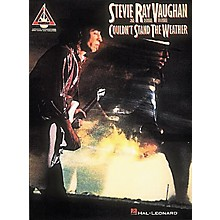 Hal Leonard Stevie Ray Vaughan Couldn't Stand the Weather Guitar Tab Songbook