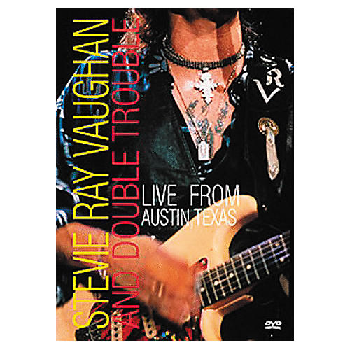 Music CD Stevie Ray Vaughan and Double Trouble: Live in Austin Texas DVD