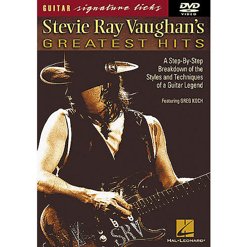 Hal Leonard Stevie Ray Vaughan's Greatest Hits DVD