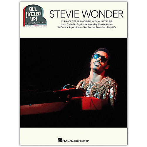 Hal Leonard Stevie Wonder - All Jazzed Up!  Intermediate Piano Solo Songbook