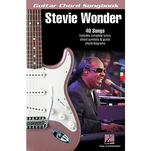 Hal Leonard Stevie Wonder - Guitar Chord Songbook Guitar Chord Songbook Series Softcover Performed by Stevie Wonder