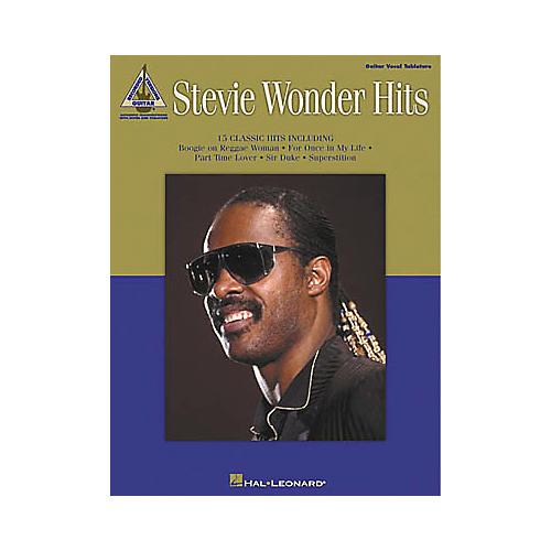 Hal Leonard Stevie Wonder Hits Guitar Tab Book