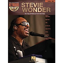 Hal Leonard Stevie Wonder Vol. 20 Book/CD Keyboard Play-Along