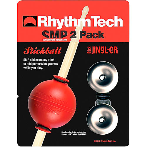 Rhythm Tech Stickball/ Stick N Jingles 2 Pack Small Stainless Steel