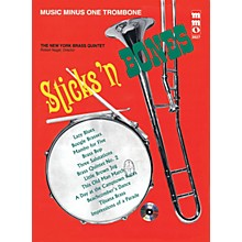 Music Minus One Sticks 'n Bones (Music Minus One Trombone) Music Minus One Series Softcover with CD