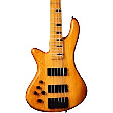 Open BoxSchecter Guitar Research Stiletto-5 Session 5 String Left Handed Electric Bass Guitar