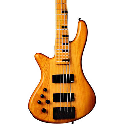 Schecter Guitar Research Stiletto-5 Session 5 String Left Handed Electric Bass Guitar