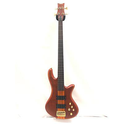 Schecter Guitar Research Stiletto Studio 4 String Fretless Electric Bass Guitar