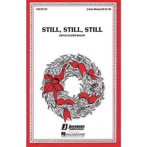 Hal Leonard Still, Still, Still 3-Part Mixed arranged by Joyce Eilers