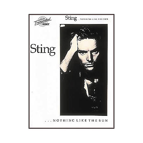 Hal Leonard Sting Nothing Like The Sun Transcribed Scores Book