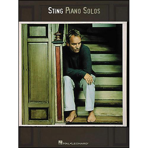 Hal Leonard Sting Piano Solos