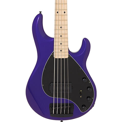 ernie ball music man stingray 5 h 5 string bass guitar maple fingerboard matching headstock. Black Bedroom Furniture Sets. Home Design Ideas