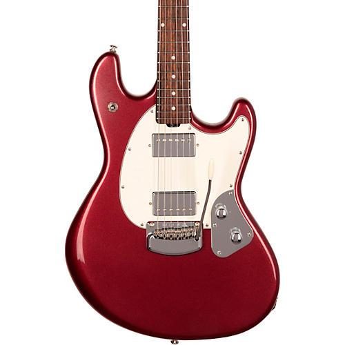 Ernie Ball Music Man StingRay RS Rosewood Fingerboard Electric Guitar Maroon Mist