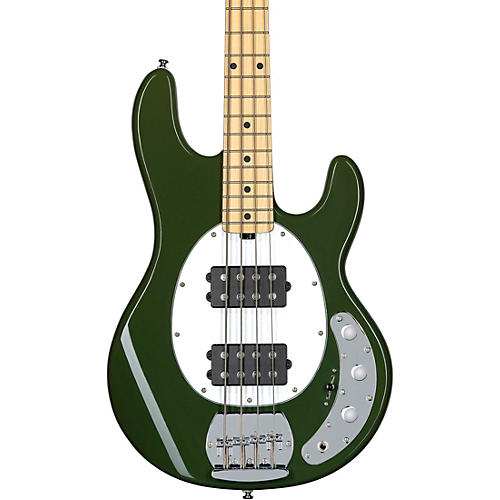 Sterling by Music Man StingRay Ray4HH Maple Fingerboard Electric Bass Olive