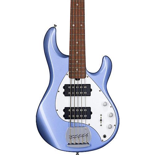 Sterling by Music Man StingRay Ray5HH 5-String Electric Bass Lake Blue Metallic