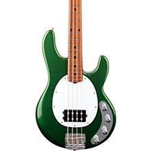 StingRay Special H Maple Fingerboard Electric Bass Charging Green
