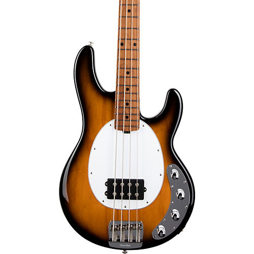 Ernie Ball Music Man StingRay Special H Maple Fingerboard Electric Bass Vintage Tobacco