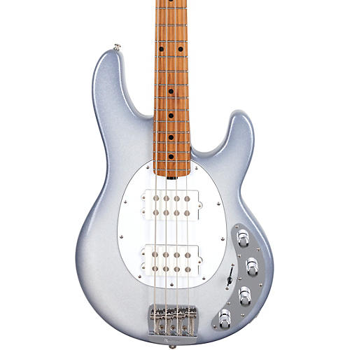 Ernie Ball Music Man StingRay Special HH Maple Fingerboard Electric Bass Snowy Night
