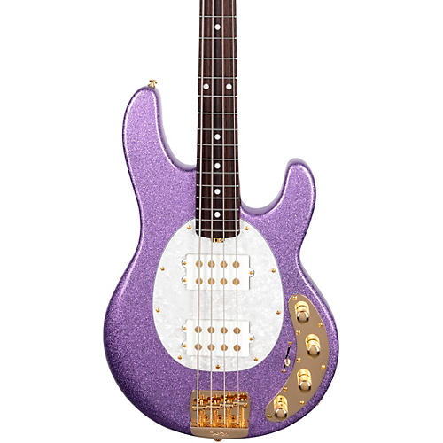 Ernie Ball Music Man StingRay Special HH Rosewood Fingerboard Electric Bass Amethyst Sparkle