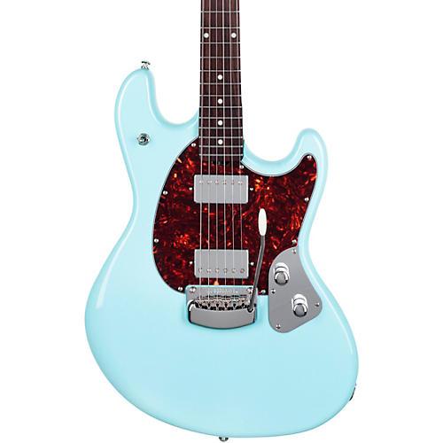 Ernie Ball Music Man StingRay Trem Electric Guitar Powder Blue