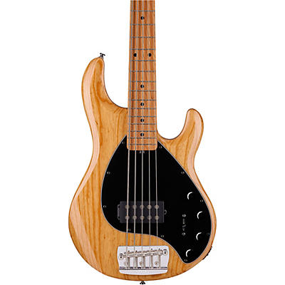 Sterling by Music Man StingRay5 Roasted Maple Neck Maple Fingerboard 5-String Bass