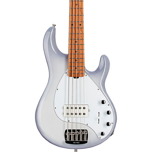 Ernie Ball Music Man StingRay5 Special H Maple Fingerboard Electric Bass Snowy Night