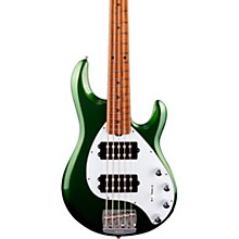 StingRay5 Special HH Maple Fingerboard Electric Bass Charging Green