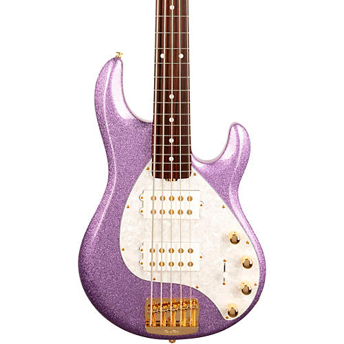Ernie Ball Music Man StingRay5 Special HH Rosewood Fingerboard Electric Bass Amethyst Sparkle
