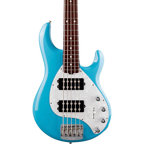Ernie Ball Music Man StingRay5 Special HH Rosewood Fingerboard Electric Bass Chopper Blue