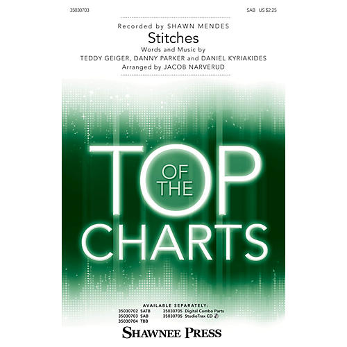Shawnee Press Stitches SAB by Shawn Mendes arranged by Jacob Narverud