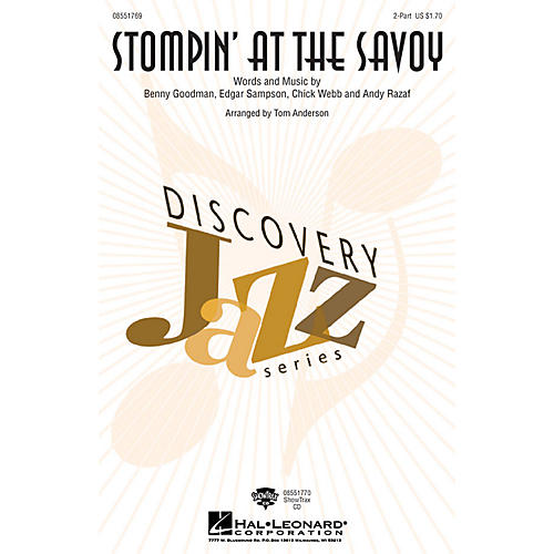 Hal Leonard Stompin' at the Savoy ShowTrax CD Arranged by Tom Anderson