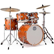 Storm Fusion 5-Piece Drum Set Camphor Wood Grain
