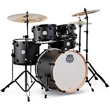Storm Fusion 5-Piece Drum Set Deep Black
