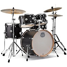 Storm Fusion 5-Piece Drum Set Ebony Blue Grain