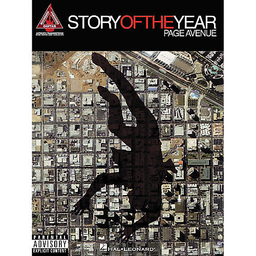 Hal Leonard Story of the Year - Page Avenue Guitar Tab Book