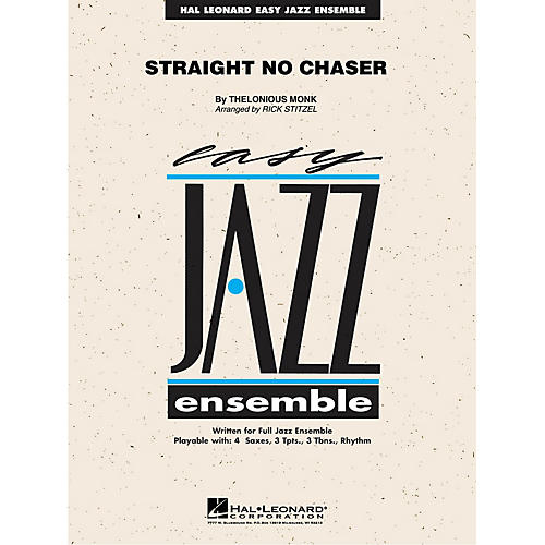 Hal Leonard Straight No Chaser Jazz Band Level 2 Arranged by Rick Stitzel