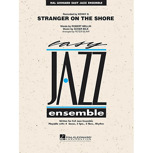 Hal Leonard Stranger on the Shore (Alto Sax Feature) Jazz Band Level 2 Arranged by Peter Blair