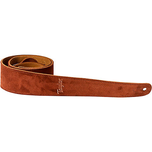 Taylor Strap Embroidered Suede