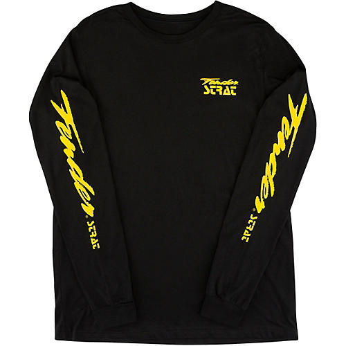 Fender Strat 90's Long Sleeve T-Shirt