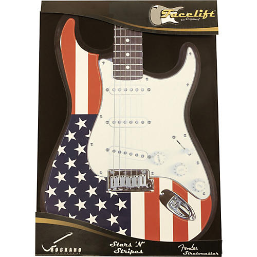 Facelift Strat Decal Overlay