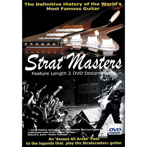 Hal Leonard Strat Masters - The Definitive History of the World's Most Famous Guitar (2-DVD Set)