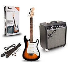 Squier Strat Pack SSS Electric Guitar with Fender Frontman 10G Combo Amplifier