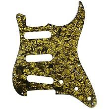 Strat Pickguard Gold Pearl