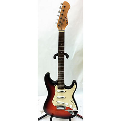ION Strat Style Solid Body Electric Guitar