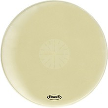Strata 1400 Orchestral-Bass Drumhead with Power Center Dot 40 in.